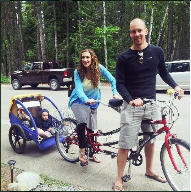Tandem Bike Family