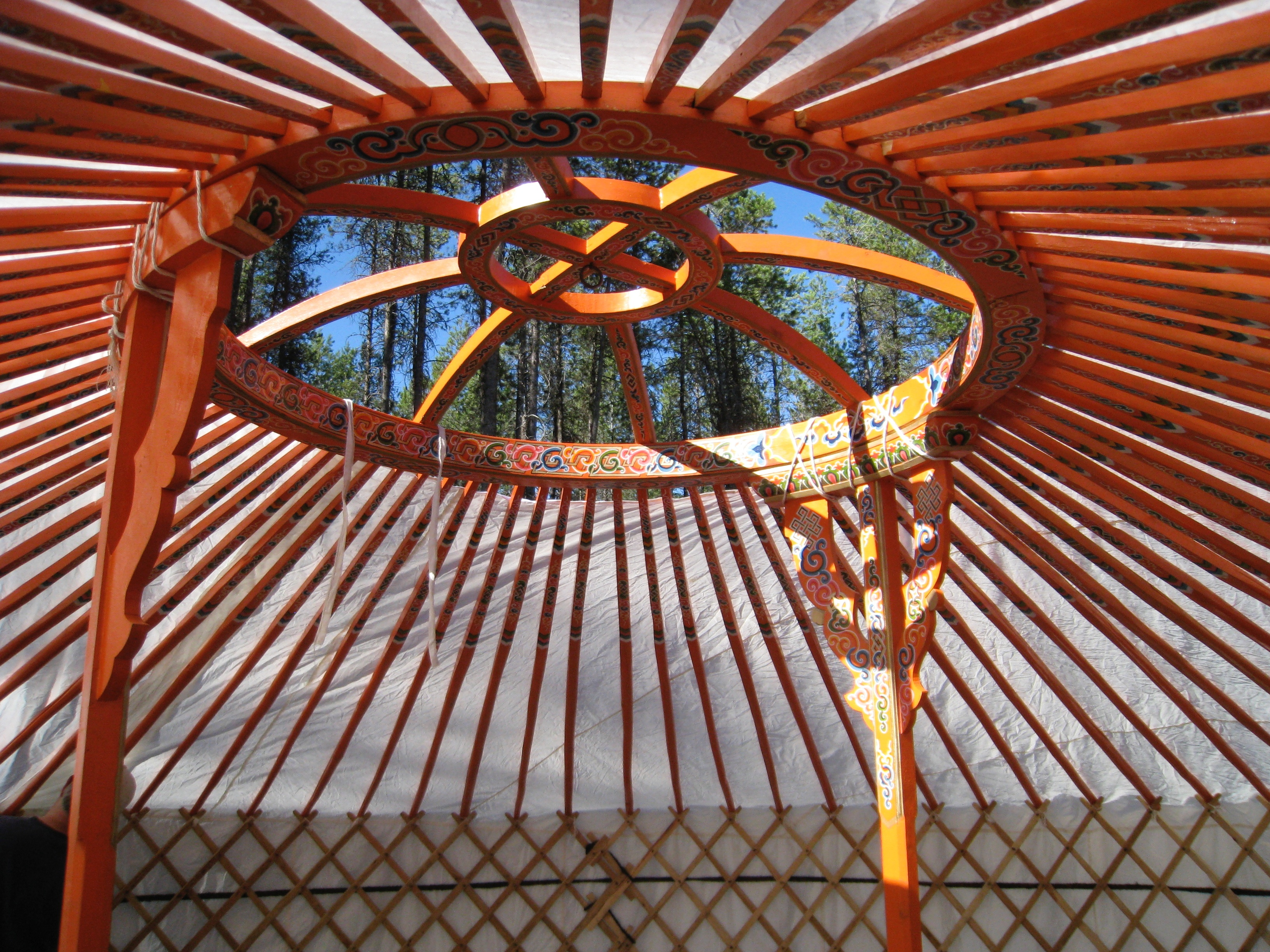 G.N.P. Yurt. A gift from Mongolia